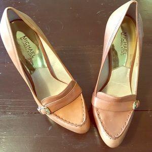 Beautiful, never work Michael Kors heels.